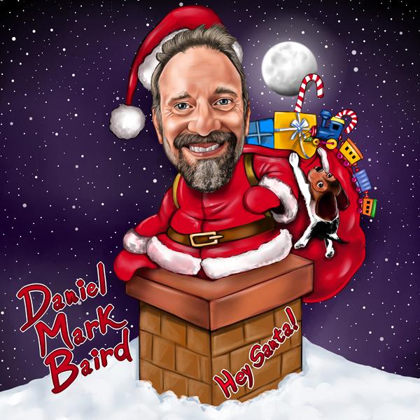 Hey Santa! Album Art